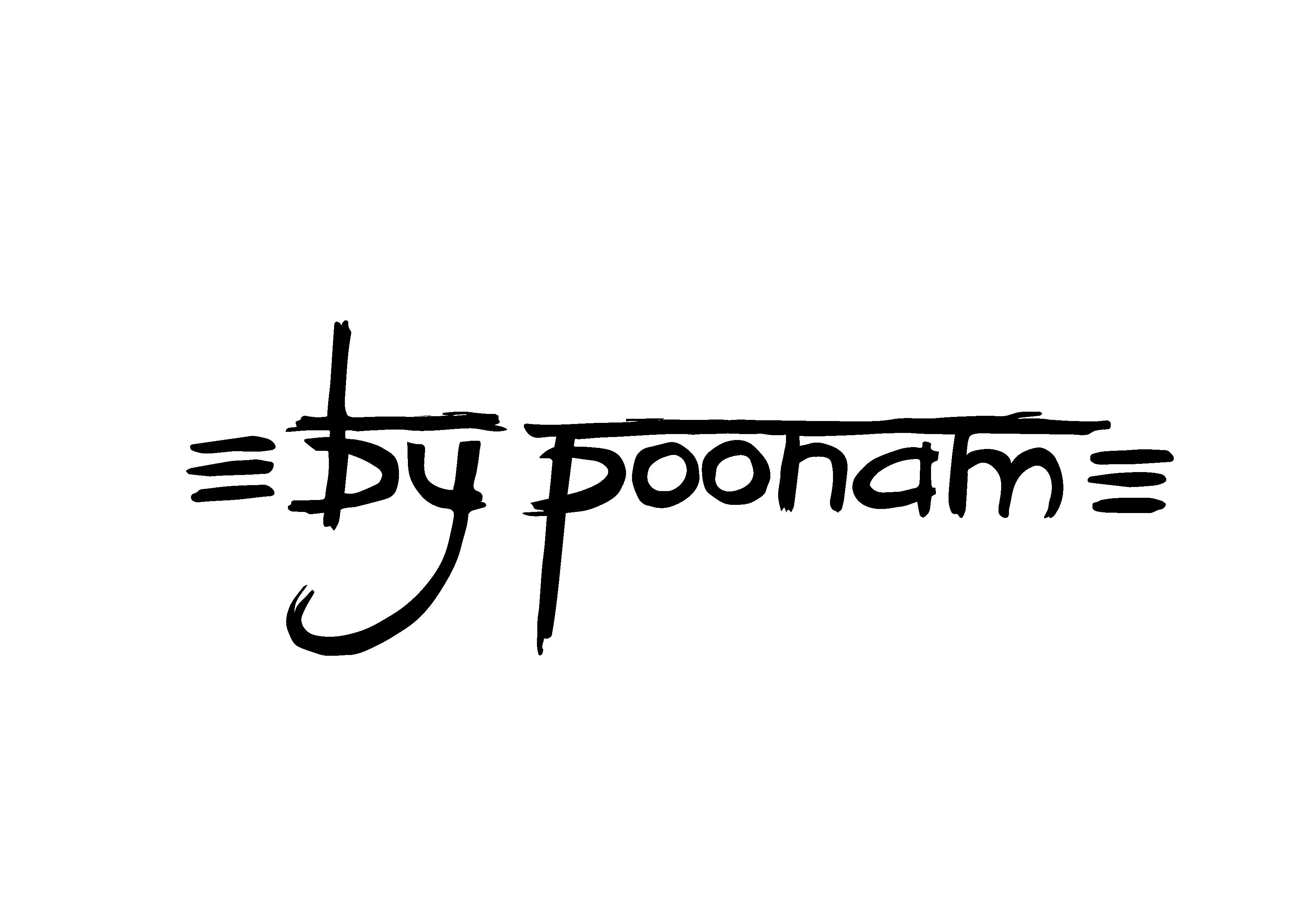 bypoonam logo black